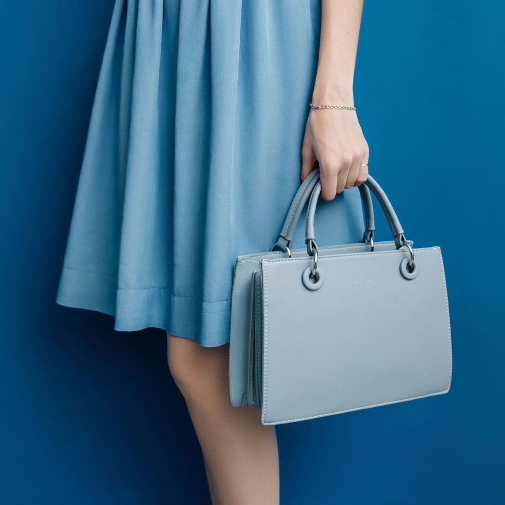 Trendige kleine Handtasche von DAVID JONES (aus Kunstleder)